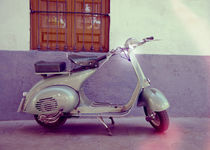 Vespa Piaggio 150 classic scooter 1962 by Perry  van Munster