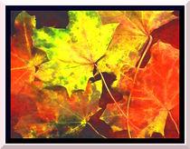 Herbstbild by Irmtraut Prien