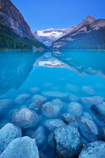 Lake Louise, Banff National Park, Canada at dawn by Sara Winter