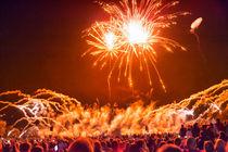 Ein buntes, leuchtendes Feuerwerk von Gina Koch