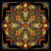 Mandala-sacred-rams-dark-version