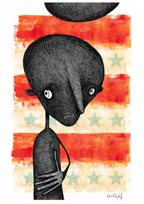 A Shadow of My Former Self - Veteran USA by Ken  Rinkel