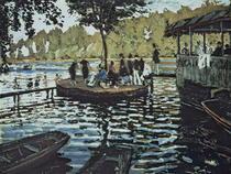La Grenouillere von Claude Monet
