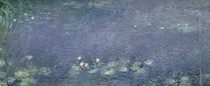 Seerosen: Morgen by Claude Monet