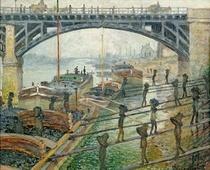 Die Bergarbeiter von Claude Monet