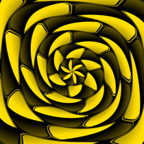 High contrast black and yellow  by Gaspar Avila