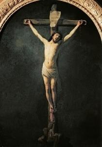 Christus am Kreuz  by Rembrandt Harmenszoon van Rijn