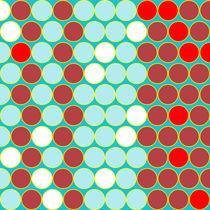 Alternating circles by Gaspar Avila