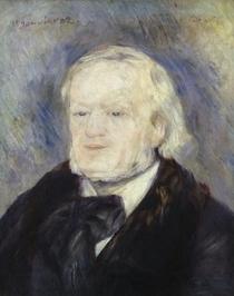 Porträt von Richard Wagner  von Pierre-Auguste Renoir
