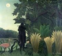 Der Schlagenbeschwörer by Henri J.F. Rousseau