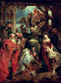 Anbetung der Könige von Peter Paul Rubens