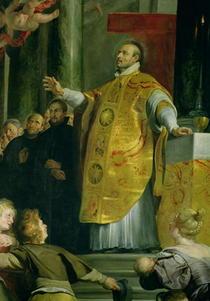 Die Vision des heiligen Ignatius von Loyola  von Peter Paul Rubens