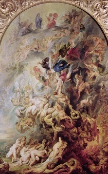 Small` Jüngsten Gerichts by Peter Paul Rubens