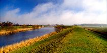Blick über den Kanal by Rolf Müller