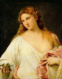 Flora  von Tiziano Vecellio
