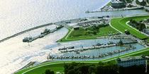 Nassauhafen, Luftbild by Rolf Müller