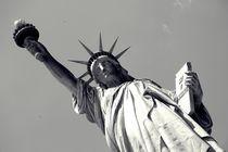 Lady Liberty - Black n White von Nicole Gruhn