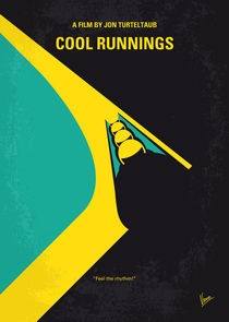 No538 My COOL RUNNINGS minimal movie poster by chungkong