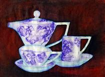 Teekanne mit Tassen by Irina Usova