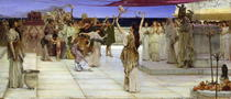 A Dedication to Bacchus von Sir Lawrence Alma-Tadema