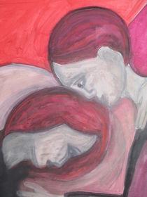 Rotes Paar by Almut Köller
