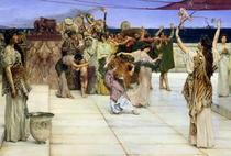 A Dedication to Bacchus by Sir Lawrence Alma-Tadema