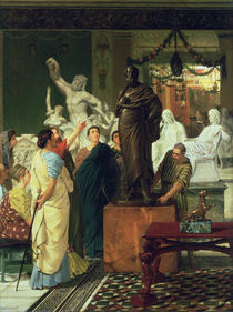 Dealer in Statues  von Sir Lawrence Alma-Tadema