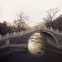 Bridge-over-golden-water