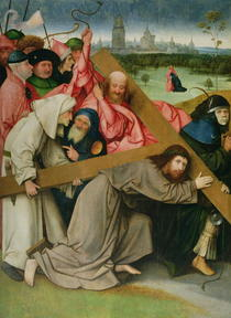 Christ Carrying the Cross  by Hieronymus Bosch