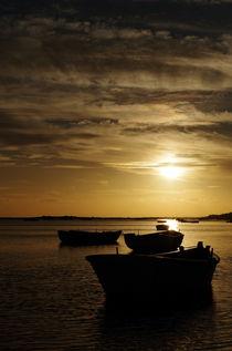 Fishing Boats in Cacela Velha von Angelo DeVal