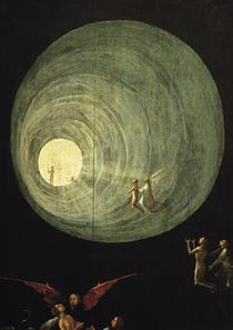 The Ascent of the Blessed von Hieronymus Bosch