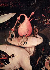The Garden of Earthly Delights: Hell, right wing of triptych von Hieronymus Bosch