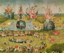 The Garden of Earthly Delights: Allegory of Luxury, central pane von Hieronymus Bosch