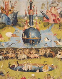 The Garden of Earthly Delights: Allegory of Luxury, detail of th by Hieronymus Bosch