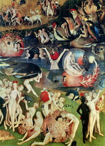 The Garden of Earthly Delights: Allegory of Luxury, detail of th von Hieronymus Bosch