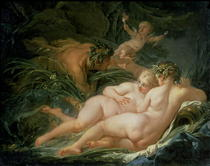 Pan and Syrinx by Francois Boucher