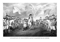 Surrender Of Lord Cornwallis At Yorktown von warishellstore