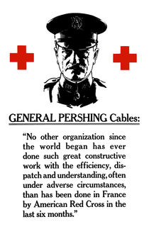 General Pershing Cables -- Red Cross by warishellstore