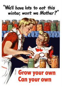 Grow Your Own Can Your Own -- WWII by warishellstore