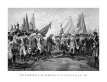 The Surrender Of Cornwallis At Yorktown von warishellstore