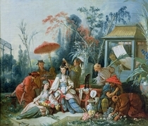 The Chinese Garden von Francois Boucher