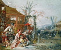 The Chinese Hunt by Francois Boucher