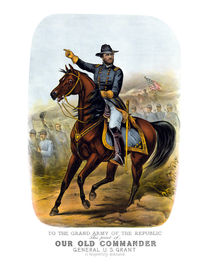 General US Grant -- Our Old Commander  von warishellstore