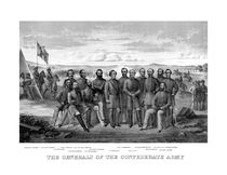 The Generals Of The Confederate Army von warishellstore