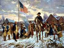 Washington At Valley Forge von warishellstore