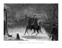 George Washington At The Battle Of Trenton von warishellstore