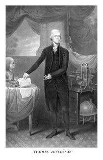 609-thomas-jefferson-president-of-the-united-states-poster