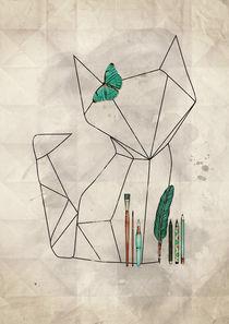 Origami Fox von Sybille Sterk