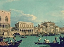 Bridge of Sighs von Giovanni Antonio Canal Canaletto