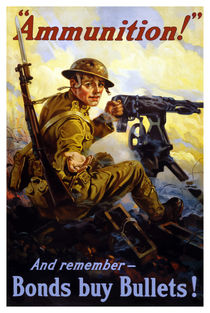 Bonds Buy Bullets -- World War I von warishellstore